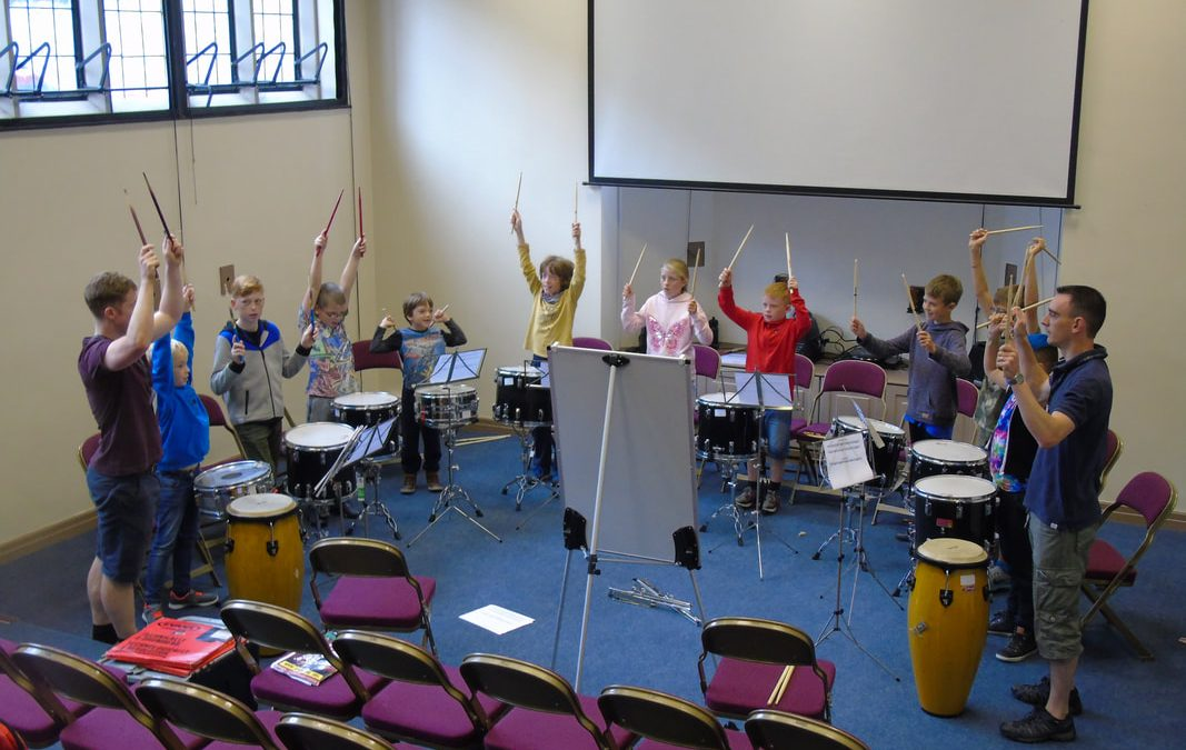 DMC Percussion Ensemble restarts today!