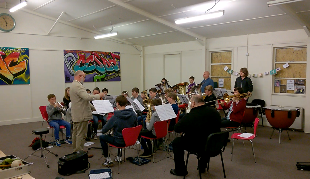 DMC Youth Brass Band – Easter Rehearsal