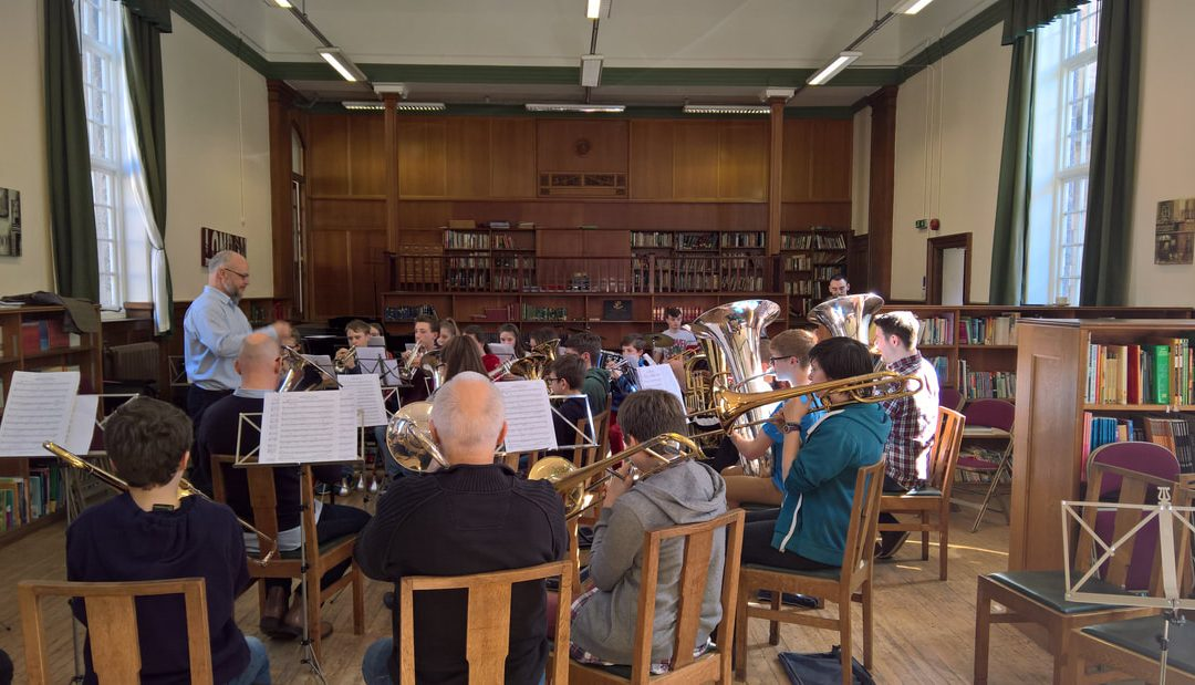 DMC Youth Brass Band prepares for Warwick