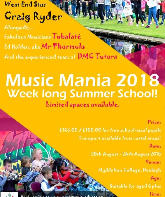 Music Mania 2018!
