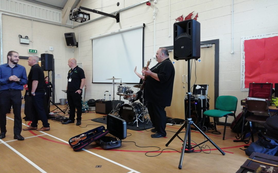 Making Some Noise in Ysgol y Llys!
