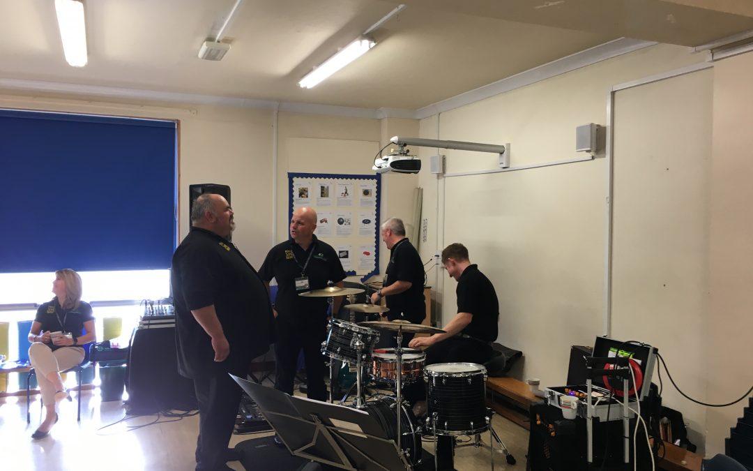 Making Some Noise in Ysgol Plas Brondyffryn