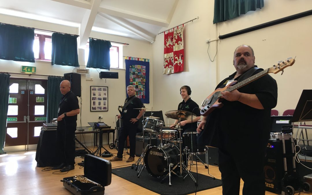 Making Some Noise in Ysgol Carrog
