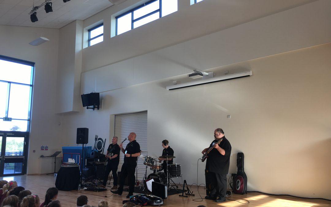 Making Some Noise in Ysgol Pen Barras!
