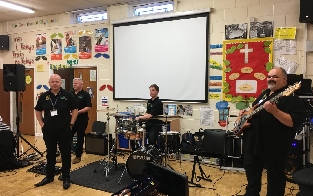 Making Some Noise in Ysgol Esgob Morgan!