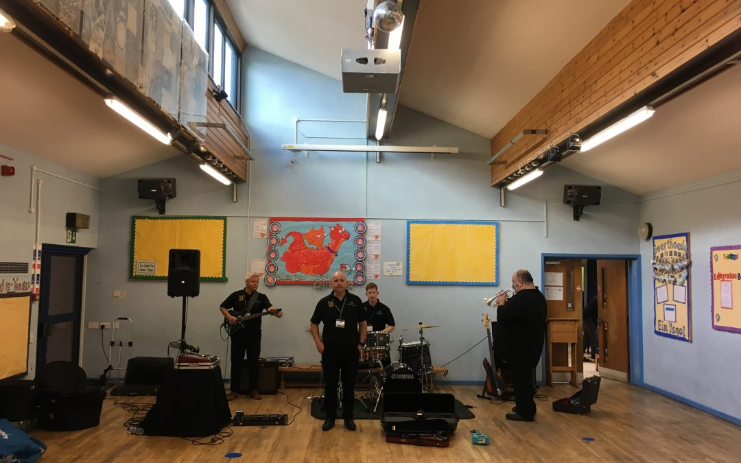 Making Some Noise in Ysgol Caer Drewyn