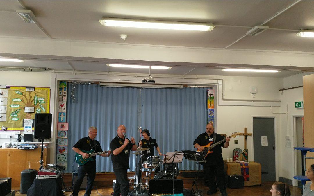 Make Some Noise visits Ysgol Trefnant