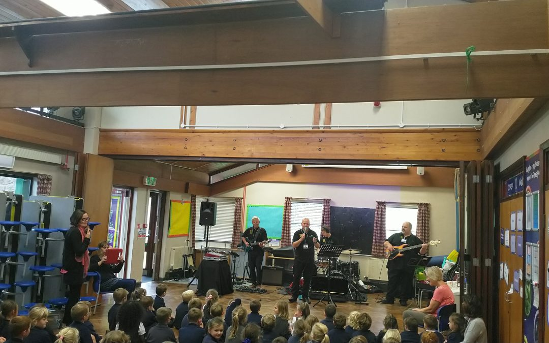 Making Some Noise in Ysgol Bro Cinmeirch