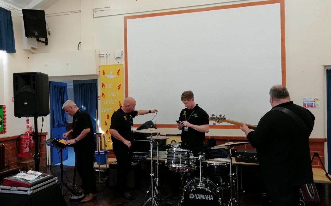 Making Some Noise in Ysgol Emmanuel!