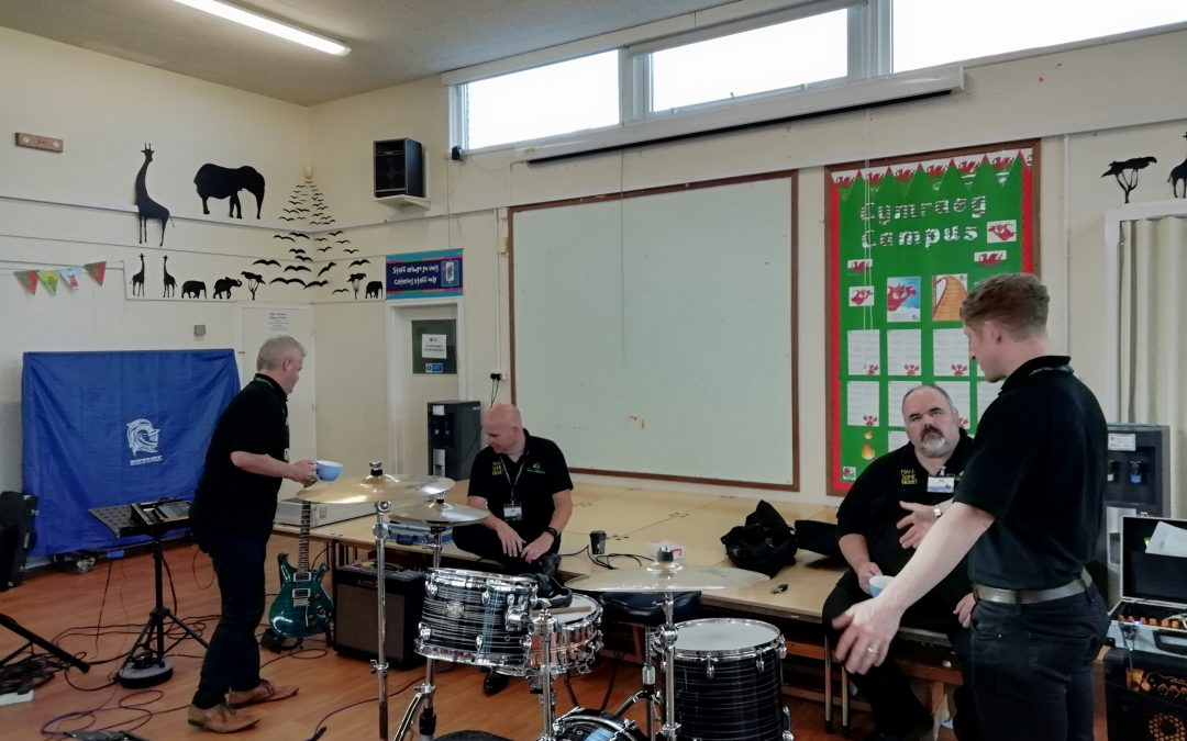 Making Some Noise in Ysgol Melyd!