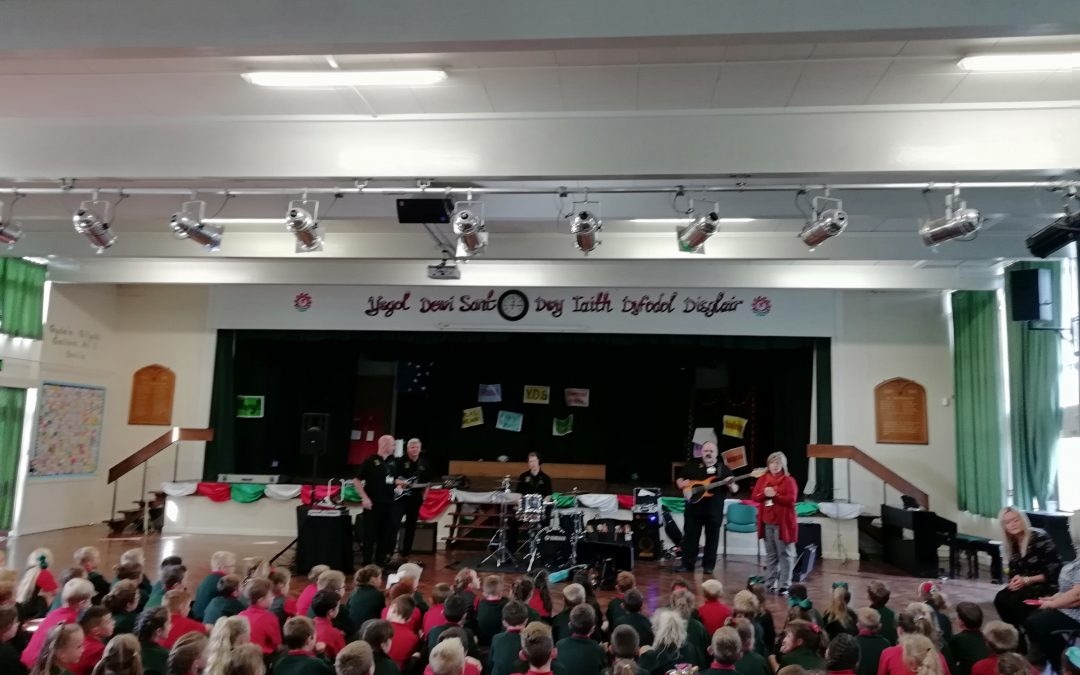 Making Some Noise in Ysgol Dewi Sant!