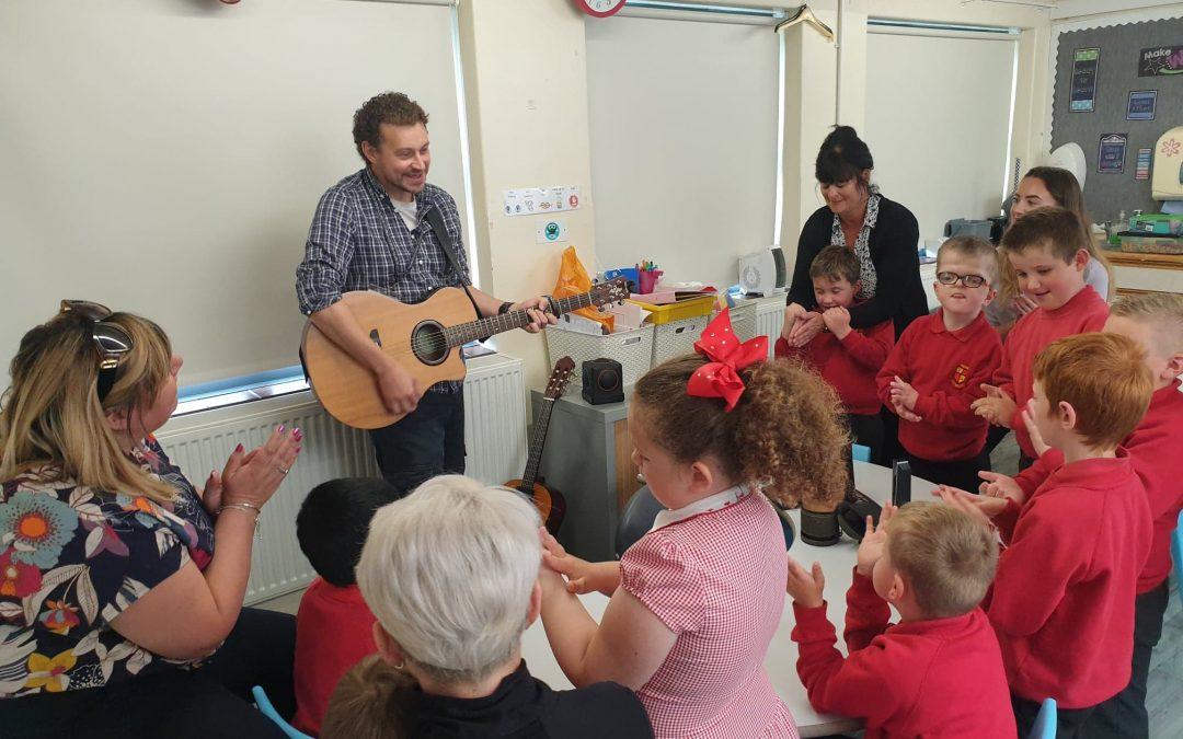 DMC Visits Ysgol Llywelyn, Rhyl