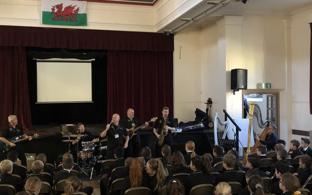 Make Some Noise visits Myddelton College
