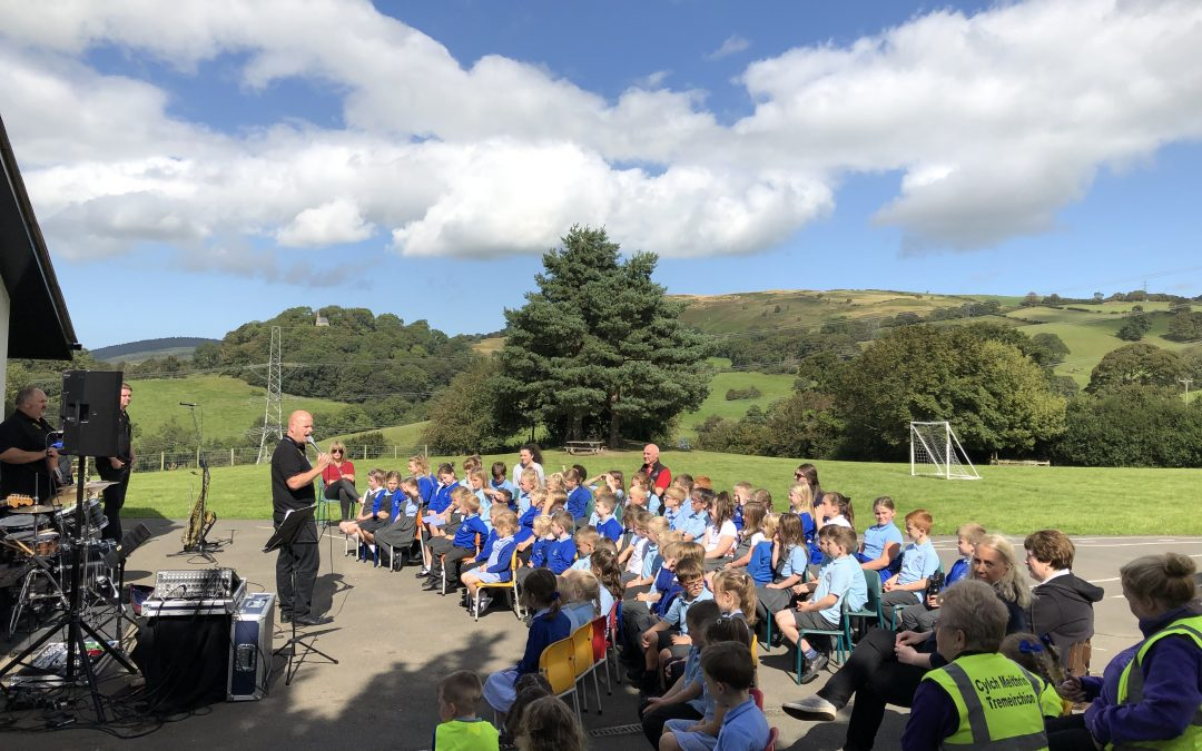 Make Some Noise visits Ysgol Tremerchion