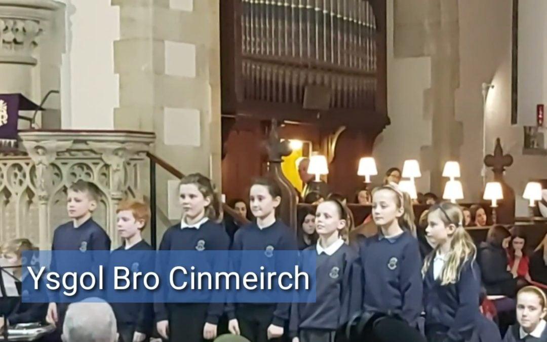 Ysgol Bro Cinmeirch Choir